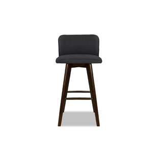 Lynne 26 Swivel Bar Stool Ivy Bronx