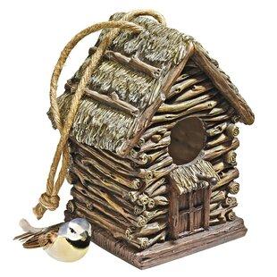 Cottage Bird House Statue By Design Toscano