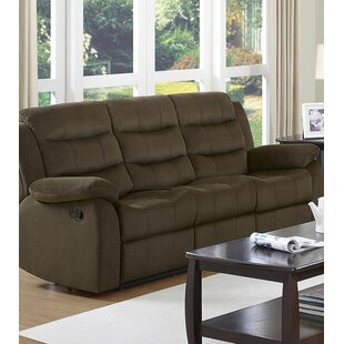 Reviews Cédric Modern Plush Reclining Sofa by Red Barrel Studio Reviews (2019) & Buyer's Guide