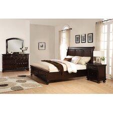 Brishland Platform 4 Piece Bedroom Set by Roundhill Furniture
