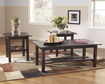 andover mills frances 3 piece coffee table set & reviews | wayfair