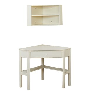 Montalto Corner Desk with Hutch