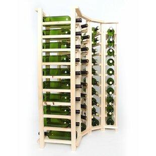 Premium Cellar Series 40 Bottle Floor Wine Rack