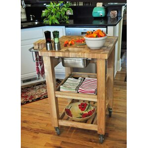 Pro Chef Kitchen Cart by Chris & Chris Cheap