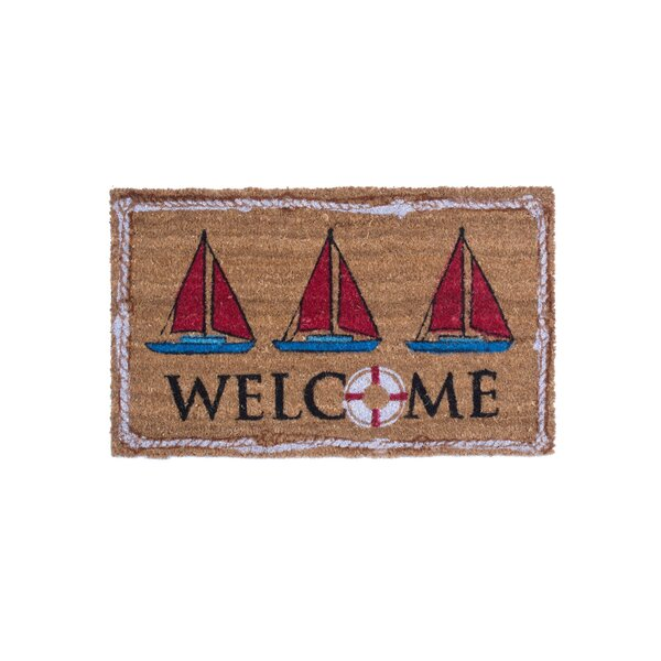 Beachcombers 8 Cloth Anchor Buoy Door Stopper