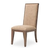 Carrollton Upholstered Side Chair in Rustic Ranch by Michael Amini / Kathy Ireland Home Designs
