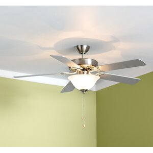 52 Hamlett 3-Light 5-Blade Ceiling Fan
