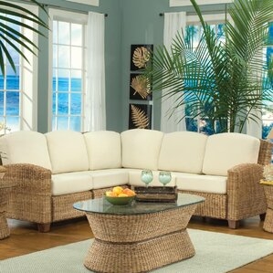 Cabana Banana Sectional By Home Styles