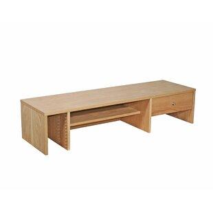 Oakwood 26cm H X 120cm W Desk Hutch By Gracie Oaks