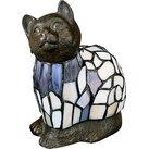 "AA Importing Tiffany Cat 9"" Table Lamp"