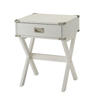 Wrought Studio Hummer 1-Drawer End Table with Storage