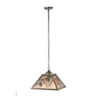 Meyda Tiffany Whispering Pines 2-Light Sq..