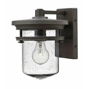 Affordable By ford 1-Light Outdoor Wall lantern By Latitude Run