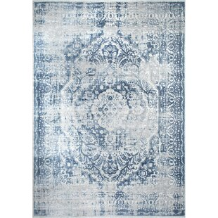 Kenmare Blue Area Rug by Nicole Miller