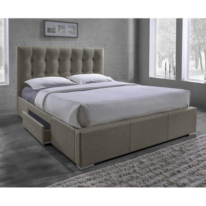 Alejo Upholstered Storage Platform Bed