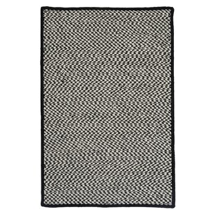 Reviews Outdoor Houndstooth Tweed Black Rug By Colonial Mills
