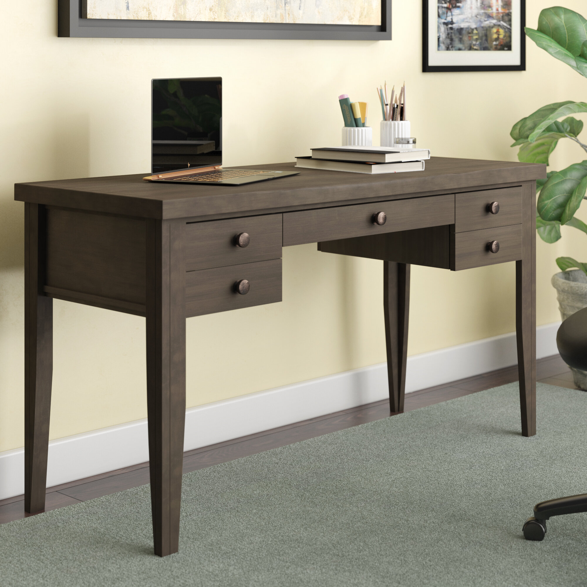 Ahern Keyboard Tray Writing Desk
