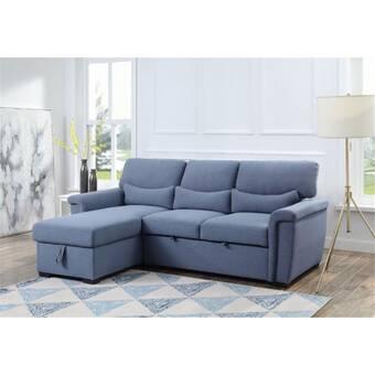 Acme 125 Wide Right Hand Facing Sleeper Sofa Chaise Wayfair
