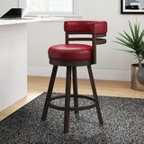 Cordelia Bar & Counter Swivel Bar Stool by Orren Ellis