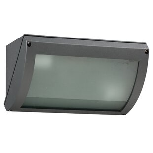 Price comparison Hibbing 2-Light Outdoor Flush Mount By Red Barrel Studio