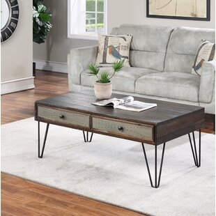Coffee Table For Living Room Everly Quinn Hubbard End Table Storage