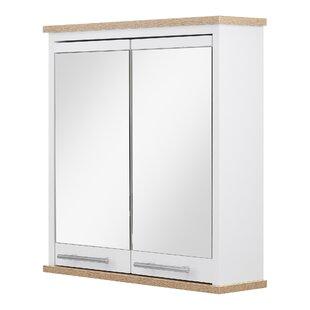 Review Jeri 52cm X 54cm Surface Mount Mirror Cabinet