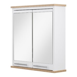 Check Price Jeri 52cm X 54cm Surface Mount Mirror Cabinet