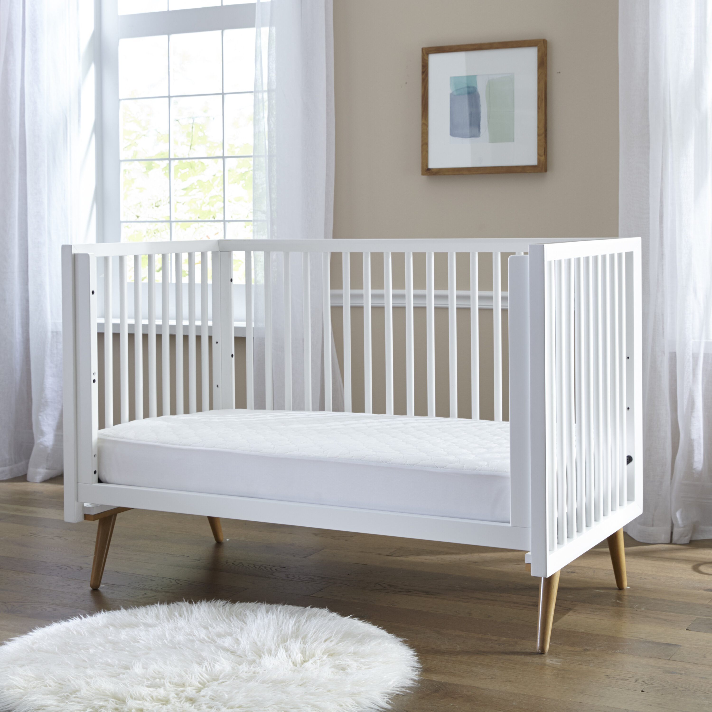 Crib Mattress Nursery Baby Breathable Waterproof Cradle Pram Swing Mattress 80 x 40 x 4 cm