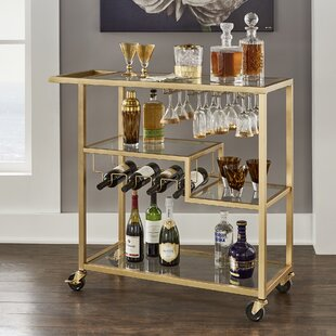 Tibo Bar Cart by Willa Arl..