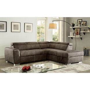 Orren Ellis Cappellucci Sleeper Sectional