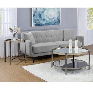 Mercer41 Davidson 2 Piece Coffee Table Set