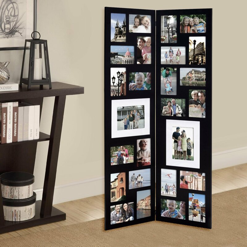 Free Standing Collage Photo Frames Frameswalls