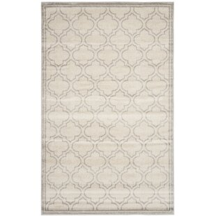 Maritza Light Gray/Ivory Indoor/Outdoor Area Rug
