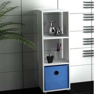 Best Price Weiss 93 X 31cm Free Standing Bathroom Cabinet