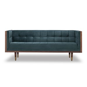 Arista Chesterfield Loveseat by Wade Logan