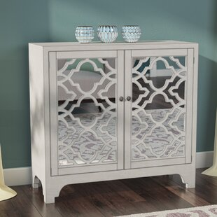 House of Hampton Gartner Lattice Accent 2 Door Chest