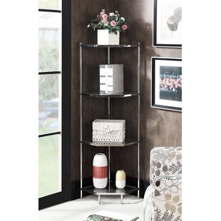 Orren Ellis Tressie 4 Tier Corner Unit Bookcase