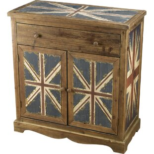 Britania 1 Drawer 2 Door Accent Cabinet by AA Importing