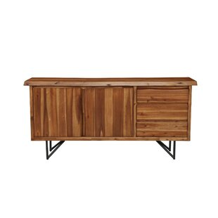 Boulder Creek Solid Acacia Sideboard Foundry Select