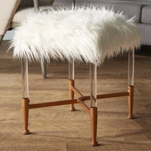 Statements by J Mireille Acrylic Bench