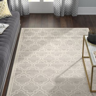 Compare Maritza Power Loomed Light Gray/Ivory Indoor/Outdoor Area Rug By Willa Arlo Interiors