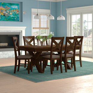Warsaw 7 Piece Dining Set by Alcott Hill Best Design