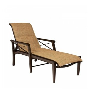 Woodard Andover Sling Reclining Chaise Lounge