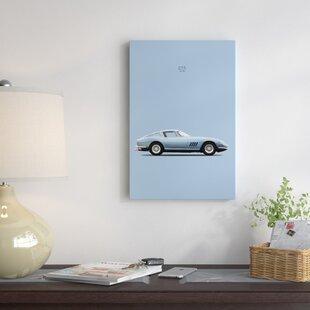'1966 Ferrari 275 GTB' Graphic Art Print on Canvas ByEast Urban Home