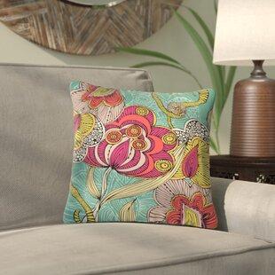 Deepak Indoor/Outdoor Throw Pillow