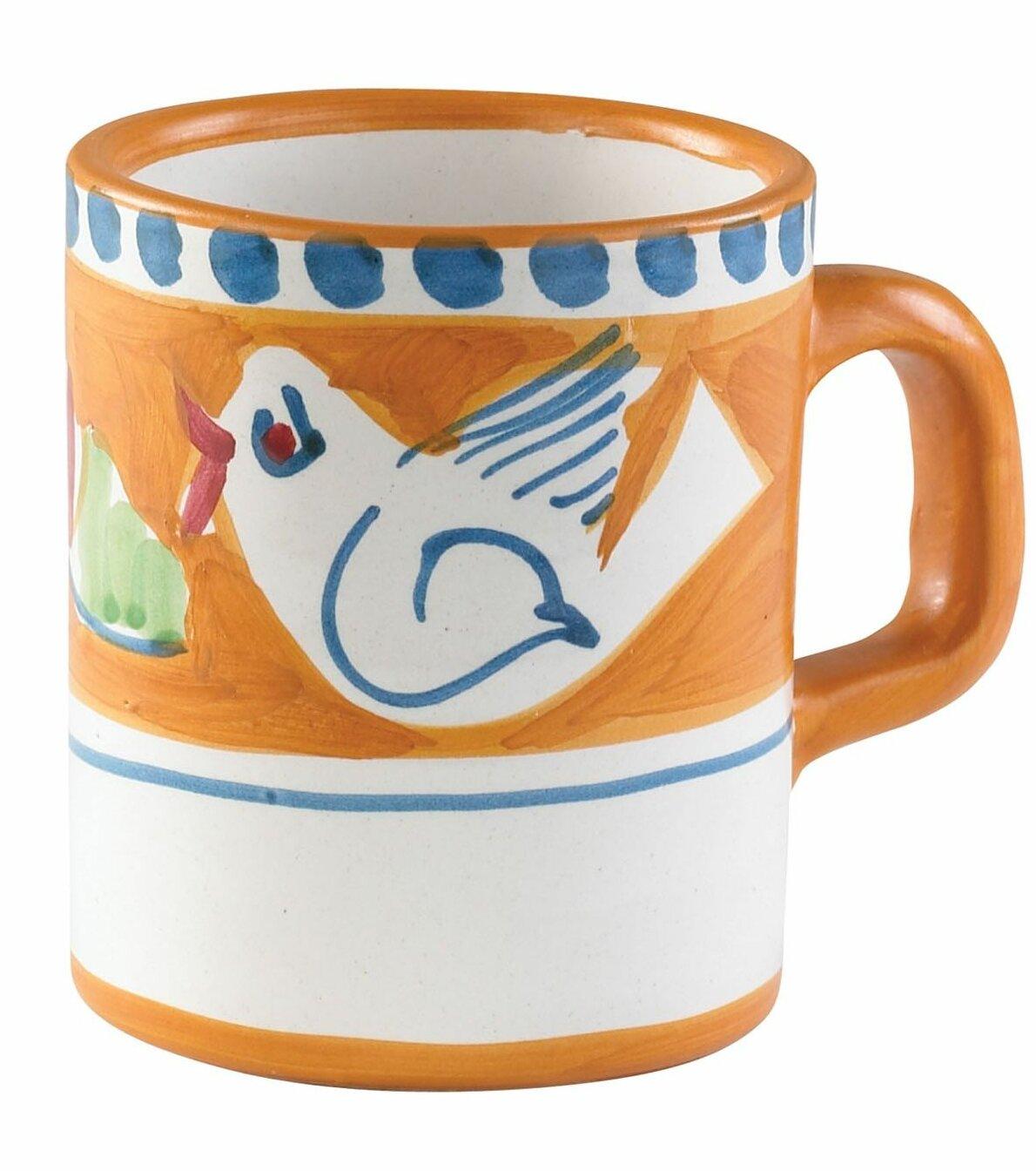 Vietri Campagna Uccello Coffee Mug Reviews Perigold