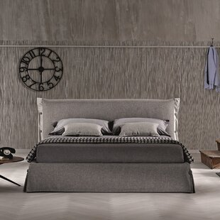 Upholstered Storage Platform Bed by J&M Furniture