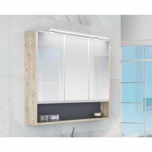 Raiden 100cm X 75cm Surface Mount Mirror Cabinet By Belfry Bathroom
