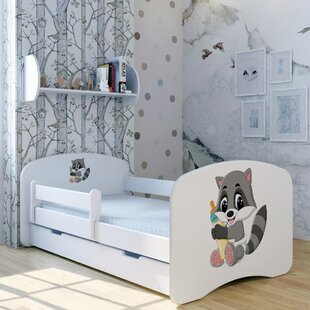 Best Price Raccoon Winni Bed With Mattress And Drawer
