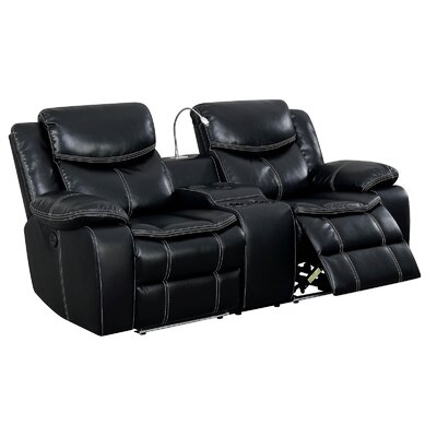 Outstanding Helfer Contemporary Love Seat Leather Manual Wall Hugger Spiritservingveterans Wood Chair Design Ideas Spiritservingveteransorg